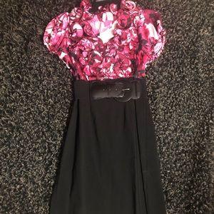 Business Attire: Floral Dress